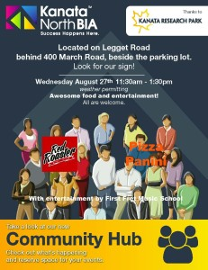 Community Hub Aug 27th