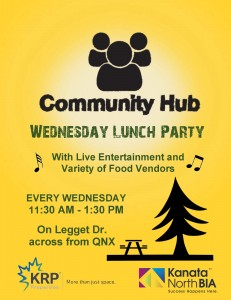 Wed Lunch Party Ad